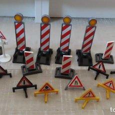 Playmobil: PLAYMOBIL SEÑALIZACION OBRA. Lote 266400703