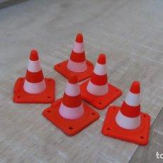 Playmobil: PLAYMOBIL SEÑALIZACION OBRA, CONOS OBRA. Lote 266400948