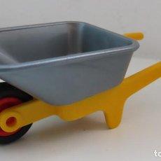 Playmobil: PLAYMOBIL CARRETILLA OBRA , GRANJA. Lote 266548668