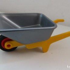 Playmobil: PLAYMOBIL CARRETILLA OBRA , GRANJA. Lote 266548773