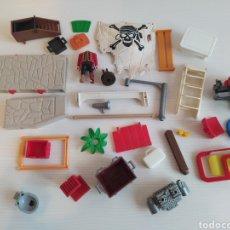 Playmobil: LOTE PIEZAS DE REPUESTO PLAYMOBIL. RECAMBIO, DESGUACE, PIEZAS VARIADAS. Lote 267253104