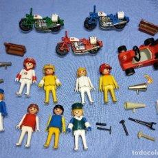 Playmobil: LOTE FAMOBIL SYSTEM MOTOS REF 3208 Y MAS REFERENCIAS AÑOS 70 ORIGINAL PLAYMOBIL VER TODAS LAS FOTOS. Lote 267314809