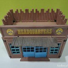 Playmobil: PLAYMOBIL CASA HEADQUARTERS FUERTE OESTE.... Lote 267339914