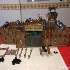 Playmobil: FORT RANDALL - FAMOBIL Y PLAYMOBIL - MUY AVANZADO - MUCHAS IMÁGENES. Lote 267802369