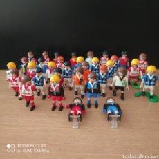 Playmobil: PLAYMOBIL LOTE 33 JUGADORES FÚTBOL, 4 PORTERO, 29 FUTBOLISTAS. Lote 267862114