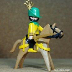 Playmobil: PLAYMOBIL CABALLERO DE LA TORRE A CABALLO, MEDIEVAL FIGURAS. Lote 268179164