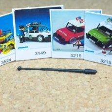 Playmobil: PLAYMOBIL ANTENA PEQUEÑA, PIEZAS PARTES COCHE AUTO ANTIGUO PRIMERA ÉPOCA BOMBERO POLICÍA RALLY. Lote 268901049