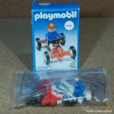 Playmobil: PLAYMOBIL 3358 CON CAJA, NIÑO CON KARTING KART JUEGOS. Lote 269178063