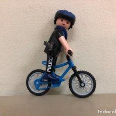 Playmobil: PLAYMOBIL POLICÍA EN BICICLETA 3168. Lote 269201353