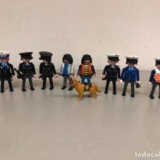 Playmobil: PLAYMOBIL POLICÍAS ,LADRONES Y PERRO POLICÍA.. Lote 269203153