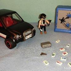 Playmobil: PLAYMOBIL LADRON DE CAJAS FUERTES CON COCHE DE HUIDA REF: 4059. Lote 269464303