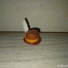 Playmobil: PLAYMOBIL SOMBRERO CHISTERA WESTERN PROFESOR PÁRROCO IGLESIA OESTE VICTORIANO BANDIDO LADRON M. Lote 269968703