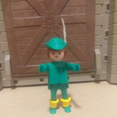 Playmobil: PLAYMOBIL FAMOBIL GEOBRA FIGURA ROBIN HOOD, CASTILLO MEDIEVAL. Lote 270904608