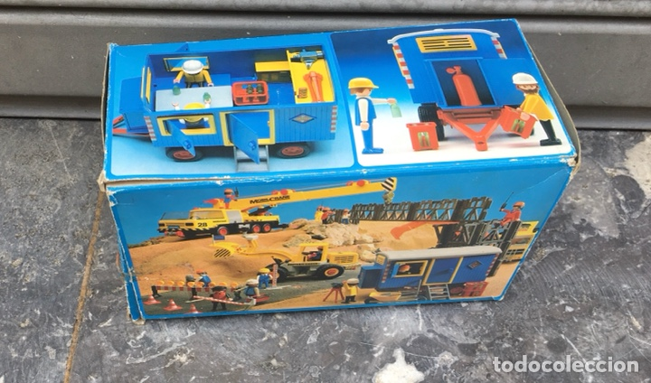 Playmobil: Playmobil 3760 , contenedor de obras,Geobra 1974 ideal coleccionistas - Foto 2 - 275099933