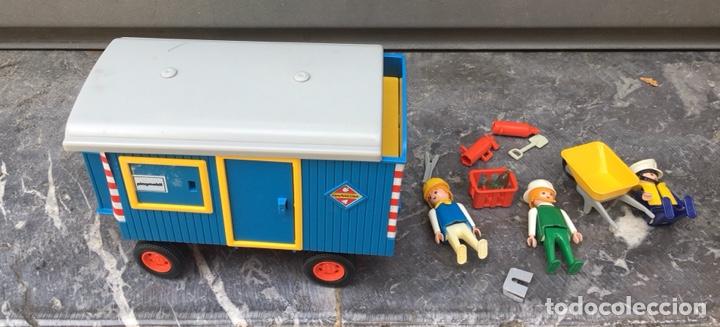 Playmobil: Playmobil 3760 , contenedor de obras,Geobra 1974 ideal coleccionistas - Foto 3 - 275099933