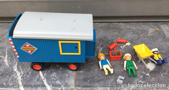 Playmobil: Playmobil 3760 , contenedor de obras,Geobra 1974 ideal coleccionistas - Foto 4 - 275099933