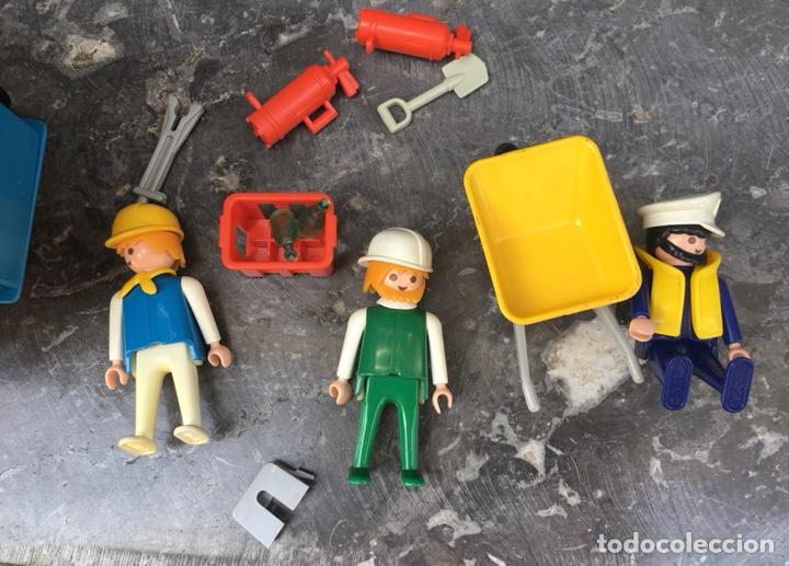 Playmobil: Playmobil 3760 , contenedor de obras,Geobra 1974 ideal coleccionistas - Foto 5 - 275099933