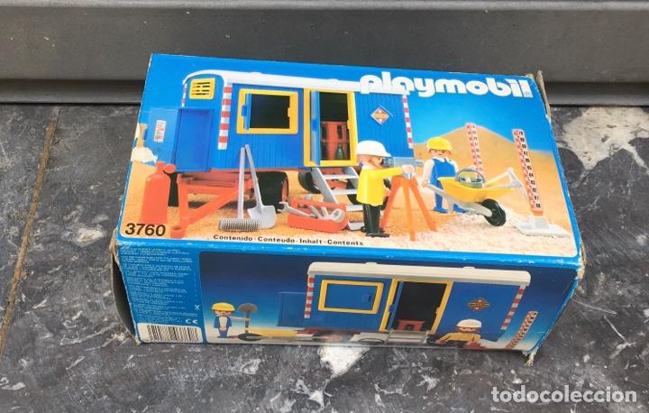 PLAYMOBIL 3760 , CONTENEDOR DE OBRAS,GEOBRA 1974 IDEAL COLECCIONISTAS (Juguetes - Playmobil)