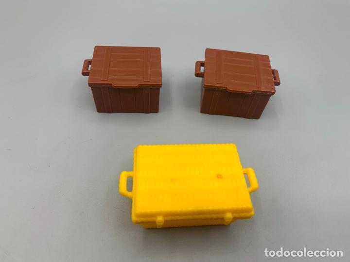 PLAYMOBIL LOTE CAJAS DEL OESTE BAÚL COFRE (Juguetes - Playmobil)