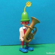 Playmobil: PLAYMOBIL SERIE 20 AZUL. SOBRES SORPRESA. REF 70148. PAYASO. FIGURA 9. Lote 277632988