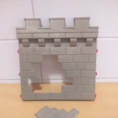 Playmobil: PLAYMOBIL SYSTEM X TRAMO MURALLA CON ENTRADA SECRETA CASTILLO MEDIEVAL. Lote 277727413
