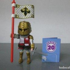 Playmobil: PLAYMOBIL JUANA DE ARCO SERIE 20 ROSA SOBRE SORPRESA NUEVO. Lote 278347673