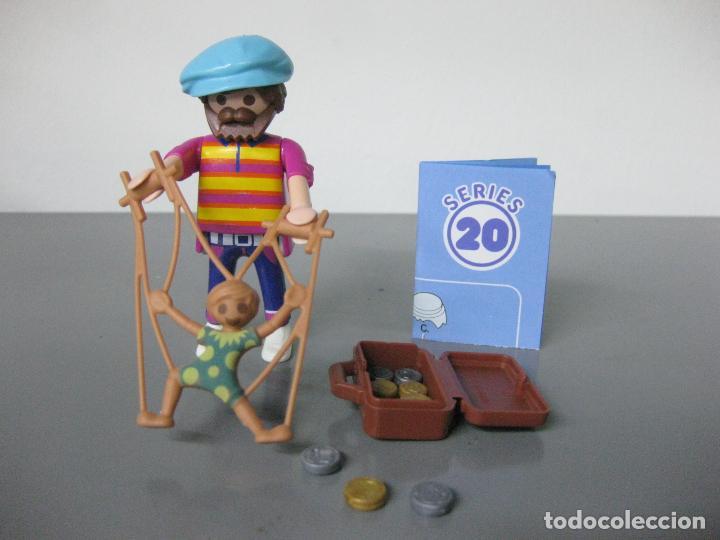 PLAYMOBIL TITIRITERO SERIE 20 AZUL SOBRE SORPRESA NUEVO (Juguetes - Playmobil)