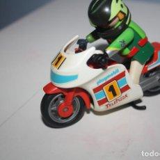 Playmobil: PLAYMOBIL MOTO CARRERAS CON PILOTO. Lote 278572928