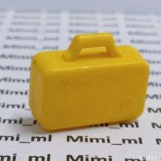 Playmobil: PLAYMOBIL MALETA AMARILLA MALETÍN. Lote 285639488