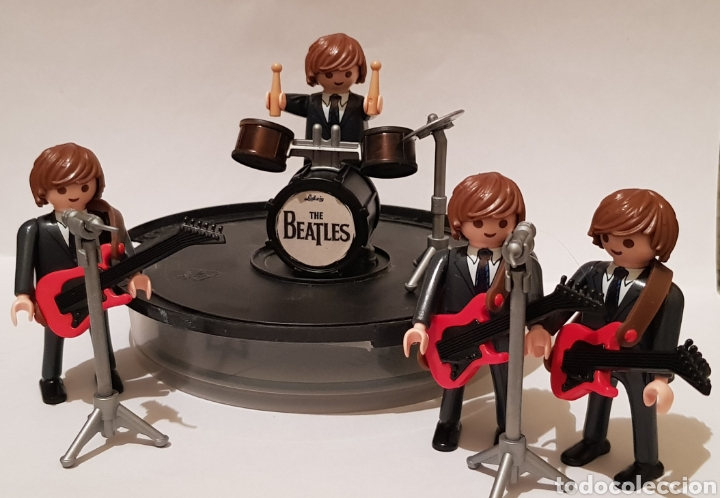 PLAYMOBIL THE BEATLES HELP SHE LOVES YOU HARD DAYS NIGHT RUBBER SOUL (Juguetes - Playmobil)
