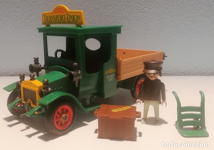 PLAYMOBIL 1900 CAMIÓN DE TRANSPORTES VICTORIANO REF. 5640 (Juguetes - Playmobil)