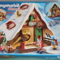 Playmobil: PLAYMOBIL 9493 CASA PANADERÍA DE PAPÁ NOEL. Lote 287701443