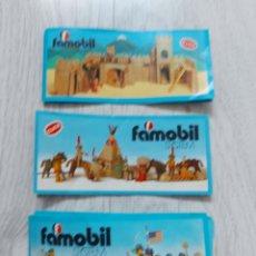 Playmobil: 3 CATÁLOGOS FAMOBIL PLAYMOBIL AÑOS 70. Lote 288135633