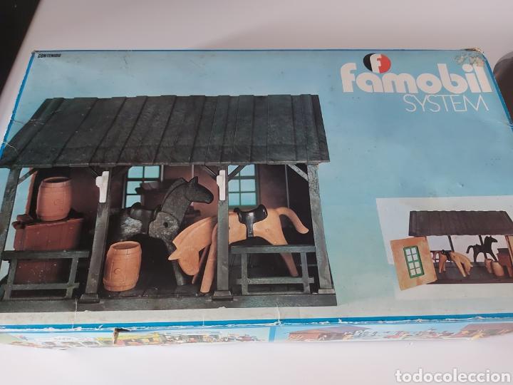 CAJA AÑOS 70 VACÍA ESTABLO FAMOBIL PLAYMOBIL (Juguetes - Playmobil)