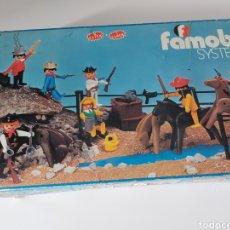 Playmobil: CAJA VACÍA AÑOS 70 FAMOBIL PLAYMOBIL. Lote 288136433
