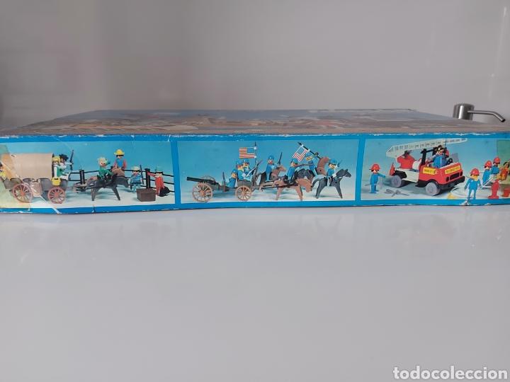Playmobil: Caja vacía indios años 70 Famobil Playmobil - Foto 2 - 288136643