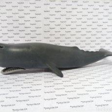 Playmobil: PLAYMOBIL BALLENA CACHALOTE GRANDE 35 CM ORCA 7998 MAMIFERO MARINO 5920 LANCHA BARCO RESCATE 4489. Lote 288210648