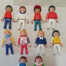 Playmobil: LOTE DE 10 PLAYMOBIL 1981 GEOBRA 1981. Lote 288307743