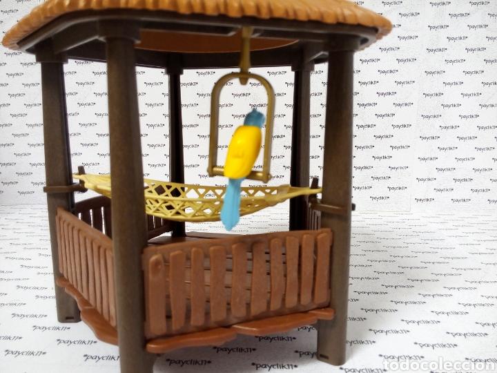 Playmobil: PLAY MOBIL CABAÑA COMPLETA CHOZA ISLA PIRATA COLUMPIO LORO 3799 4073 7298 7436 CHOZO CAÑON BARCO - Foto 6 - 288356963