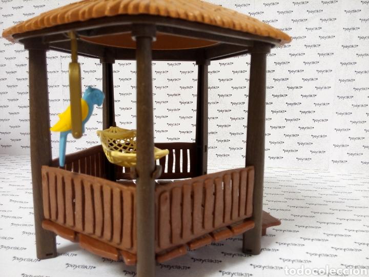 Playmobil: PLAY MOBIL CABAÑA COMPLETA CHOZA ISLA PIRATA COLUMPIO LORO 3799 4073 7298 7436 CHOZO CAÑON BARCO - Foto 7 - 288356963