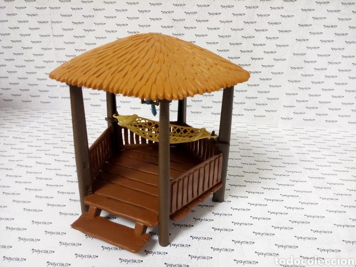 Playmobil: PLAY MOBIL CABAÑA COMPLETA CHOZA ISLA PIRATA COLUMPIO LORO 3799 4073 7298 7436 CHOZO CAÑON BARCO - Foto 9 - 288356963