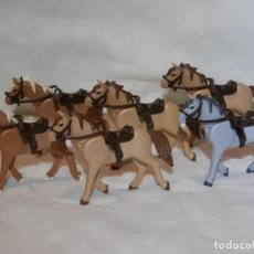 Playmobil: PLAYMOBIL CABALLOS OESTE, WESTERN, NORDISTAS, SUDISTAS, NUEVOS. Lote 289915778
