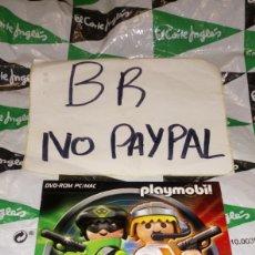 Playmobil: DVD ROM PC MAC PLAYMOBIL TOP AGENTS 2011-2012. Lote 290139028