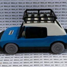 Playmobil: PLAYMOBIL 3210 COCHE AZUL PRIMERA ÉPOCA VEHÍCULOS CIUDAD BACA EQUIPAJE BARRA ANTIVUELCO PARABRISAS. Lote 291282403