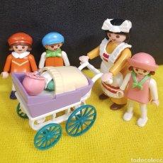 Playmobil: NIÑERA CON NIÑOS VICTORIANOS DE PLAYMOBIL. Lote 292274873
