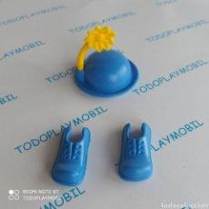Playmobil: PLAYMOBIL ZAPATOS PAYASO Y GORRO. Lote 292287408