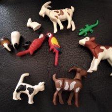 Playmobil: PLAYMOBIL - LOTE DE 10 ANIMALES - CABRA, LORO, VACA, HAMSTERS, LARGARTIJA.... Lote 292580843