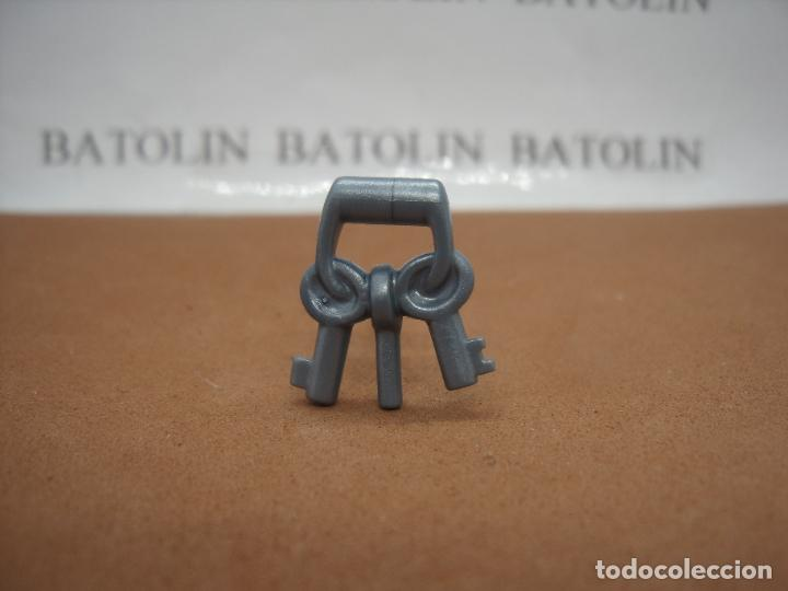 PLAYMOBIL LLAVES PLATEADAS MEDIEVAL CASTILLO (Juguetes - Playmobil)