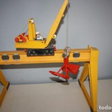 Playmobil: PLAYMOBIL GRÚA PORTUARIA, TREN, DE PLAYMOBIL, REF 4210.. Lote 294581278
