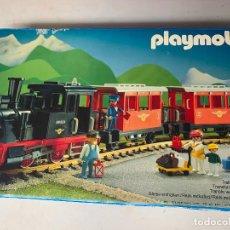 Playmobil: PLAYMOBIL CAJA VACÍA TREN 4001. Lote 294962743